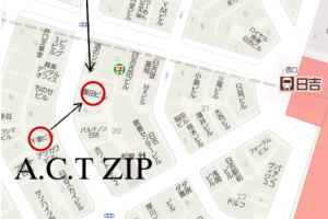 ACT(アクト)ACT ZIP(アクト ジップ)移転のご案内